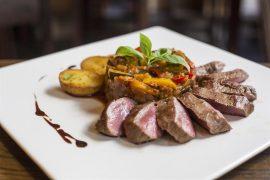 オーストリアウィーンBolena Restaurant & Weinbarの料理