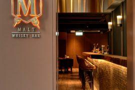 香港Malt Whisky Barの店内