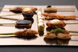 シンガポールteppan-kaiseki-satsuki料理
