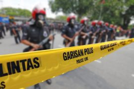 インドネシアのデモ