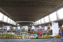 サンパウロの中央卸売市場