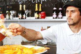 オーストラリアモスマンFour FRogs Creperie Mosmanの料理