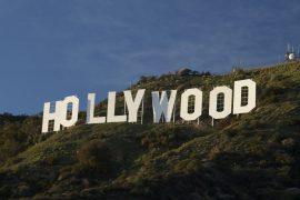 世界的に有名なハリウッドの文字