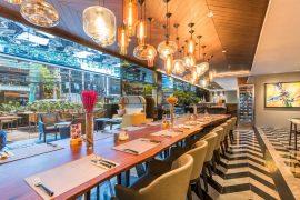 タイバンコクのMetta Eatery & Barの店内