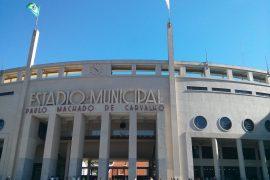 ブラジルサッカー博物館の外観