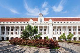 ファタヒラ広場のインドネシア銀行博物館