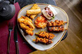 イギリスロンドンRomulo Café Londonの料理