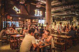 タイバンコクTBC The Beer Capの店内