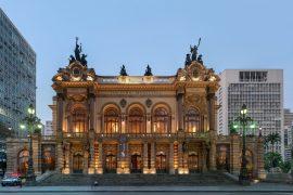 サンパウロ市立劇場の外観