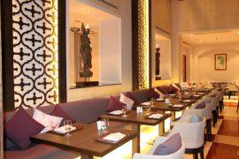 ミャンマーヤンゴンThe Emporia Restaurantの店内