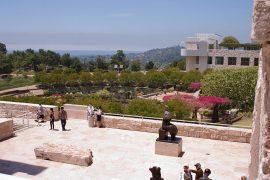 ゲッティセンターの広大な庭園