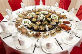 ミャンマーヤンゴンTiger Hill Chinese Restaurantの料理