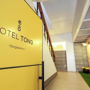 韓国ソウルのGoodstay Hotel Tong Seoul Dongdaemunの内装