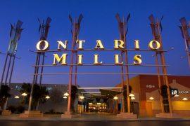 オンタリオ ミルズの入り口の一つ
