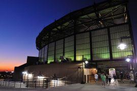 シカゴ ホワイトソックスのホーム球場、USセルラー フィールド入り口