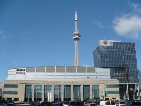 エア カナダ センターの外観