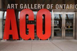 オンタリオ美術館の入り口