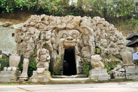ゴア ガジャの洞窟入り口