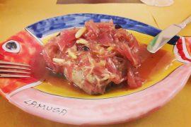 イタリアシチリアTischi Toschiの料理
