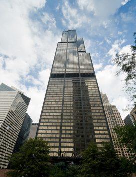 高層のウィリスタワー
