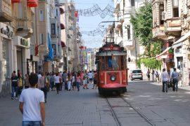 イスタンブールのトラムヴァイ
