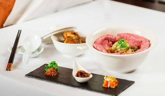 Lawry's The Prime Rib Taipeiの料理