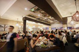 ラメサ・レストラン・フィリピン・キュイジーヌの店内