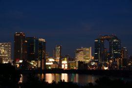 梅田の夜景