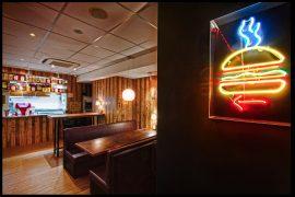 バーガー・ジョイント・ニューヨークの店内