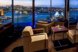 シドニーのホテルからの夜景