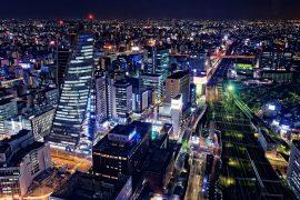 名古屋駅(名駅)の夜景