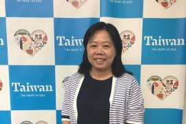 台湾観光協会東京事務所所長の鄭憶萍さん