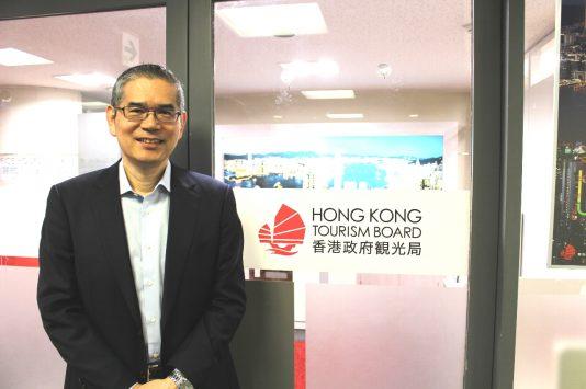 香港政府観光局日本局長の堀和典さん