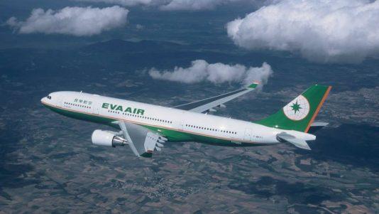 エバー航空の機体