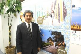 マカオ政府観光局日本代表の榊原史博さん