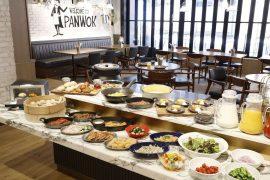 横浜のホテルの朝食