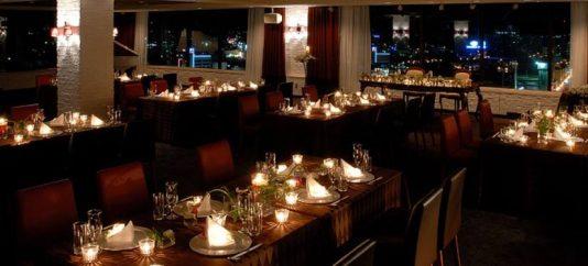 弘前パークホテルの地上12階にあるバンケットルーム「ステラ」