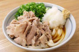 浜松町駅近くの自家製さぬきうどんと肉 甚三