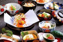 京都駅周辺の料亭・京大和屋の料理