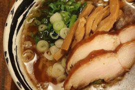 横浜駅西口のラーメン屋・麺場 浜虎のラーメン