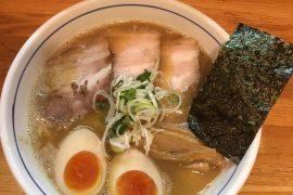 中野のラーメン屋・麺屋はし本のメニュー一例