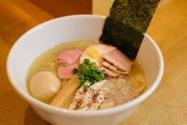 荻窪のラーメン屋・麺屋 正路のメニュー一例